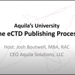 Aquila University - eCTD Publishing Process